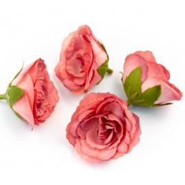 Головки цветов эустома красная