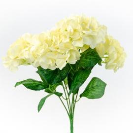 Artificial milk hydrangea bouquet