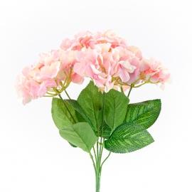 Букет искусственный гортензии розовый