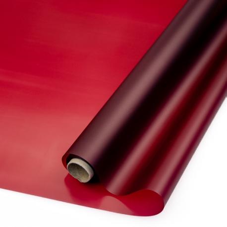 Matte film in a roll of 60 cm x 10 yards P.WM 011 Wine