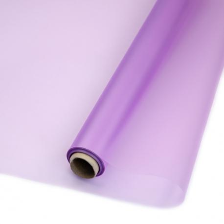 Плівка матова в рулоні 60см х 10ярд P.WM 033 Lavender