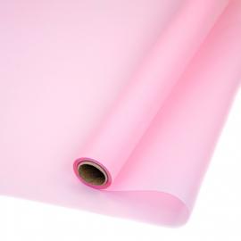 Пленка матовая в рулоне 60см х 10ярд P.WM 164 Pink