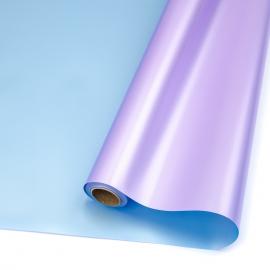 Пленка матовая в рулонах 60см х 8м S.JSZ-09 Lavender + Lt Blue