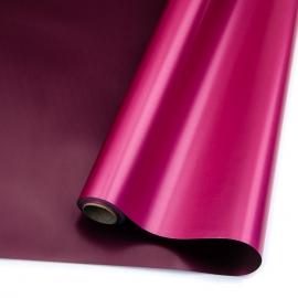 Плівка матова в рулонах 60см х 8м S.JSZ-01 Wine+Fuchsia