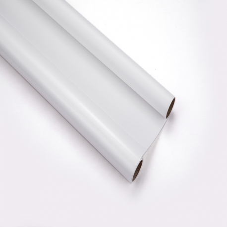 Matt film in rolls of 60 cm x 8 m S.LGYC-002 White