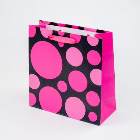"Paper package ""Raspberry bubbles"""
