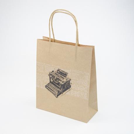 """Package paper kraft M """"Typewriter"""""""