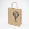 """Пакет бумажный крафт L """"Воздушный шар"""""""