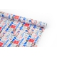 """Coated paper 70cm x 10yards """"HAPPY BIRTHDAY"""" Blue-red"""