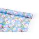 "Coated paper 70cm x 10yards ""Sakura on blue"""