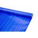 """Папір крейдований 70см х 10ярд """"Блакитні ліани на синьому"""""""