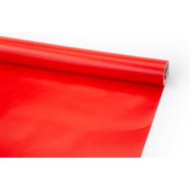 Папір крейдований 70см х 10ярд Червоний