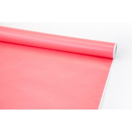Папір крейдований 70см х 10ярд Рожевий