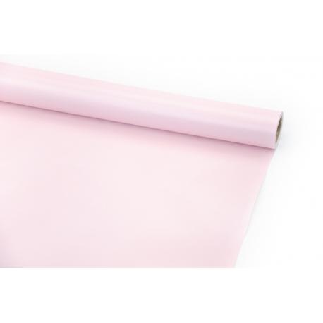 Папір крейдований 70см х 10ярд Світло-рожевий