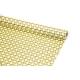 "Kraft paper 70 cm x 10 yards ""Squares of yellow shades"""