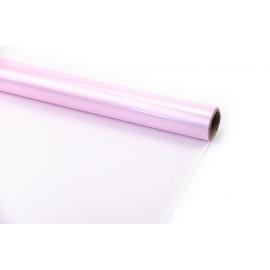 Пленка матовая в рулоне 60 см х 8 м Розовая