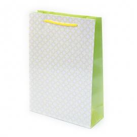 """Пакет паперовий """"Жовтий орнамент"""""""