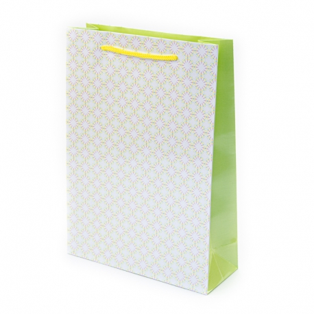 """Package paper """"Yellow ornament"""""""