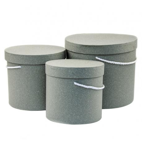 Tubesi craft 3 pcs.gray