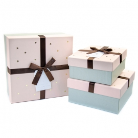 Set of boxes for gifts from 3 pieces of JKZ-37