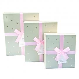 Набір коробок для подарунків з 3 шт JKZ-39