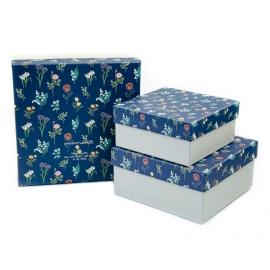 Набір коробок для подарунків з 3 шт JKZ-89