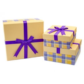 Set of gift boxes from 3 pieces of JKZ-90