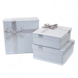 Набір коробок для подарунків з 3 шт JKK-1