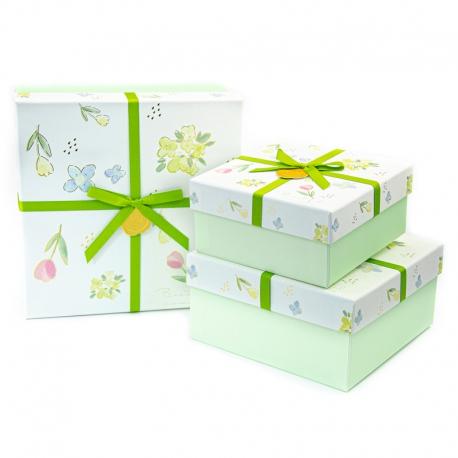 Набір коробок для подарунків з 3 шт JKK-100
