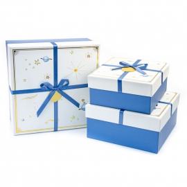 Набір коробок для подарунків з 3 шт JKK-101