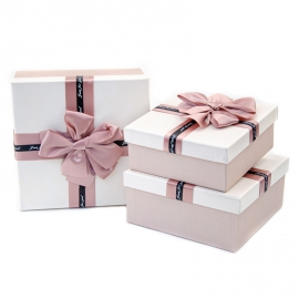Set of gift boxes from 3 pieces of JKK-4