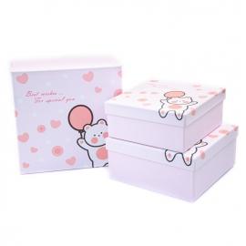 Набір коробок для подарунків з 3 шт JKK-7