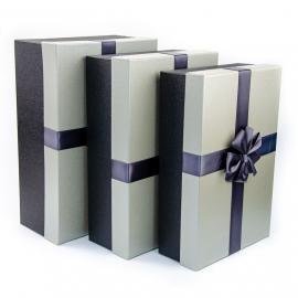 Набір картонних коробок для подарунків з 3 шт 0320-3