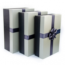 Set of cardboard boxes for gifts from 3 pieces 0320-3