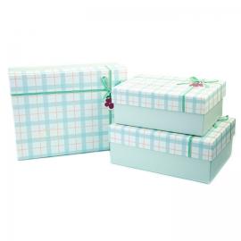Набір коробок для подарунків з 3 шт 9700-49