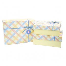 Набір коробок для подарунків з 3 шт 9700-48