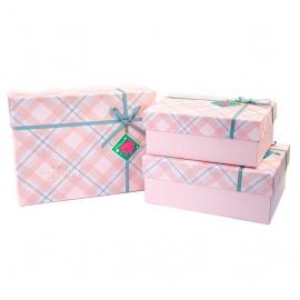 Набір коробок для подарунків з 3 шт 9700-47