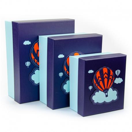 Набір коробок для подарунків з 3 шт 107-38