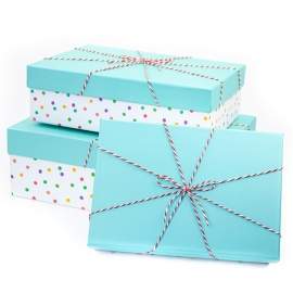 Set of boxes for gifts from 3 pieces 91306-21