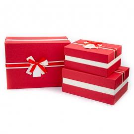 Набір коробок для подарунків з 3 шт NC05-13
