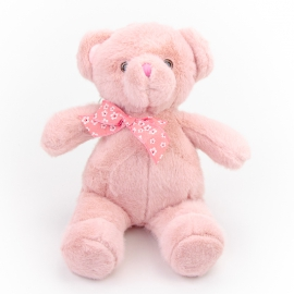 Toy polyester Bear Winnie 0220-4 Pink
