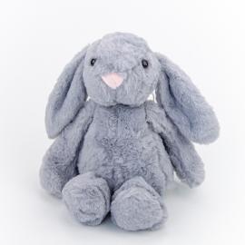 Іграшка поліестерна Кролик Дольче 0220-2 Сірий