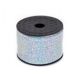 "Polypropylene tape ""Hologram"" of 5 mm x 90 m 86 silver"