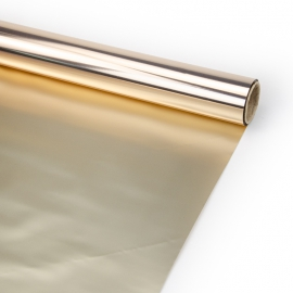 """Matte double-sided film 60 cm x 8 m """"Metal"""" Gold"""