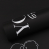 """The film is matte in the letters """"Love You"""" 06 Black"""