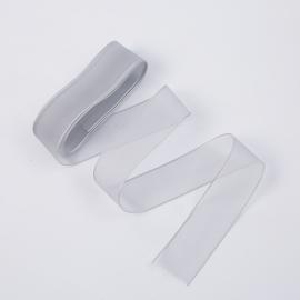 Стрічка з органзи 26мм х 20ярд 123 Dusty Silver