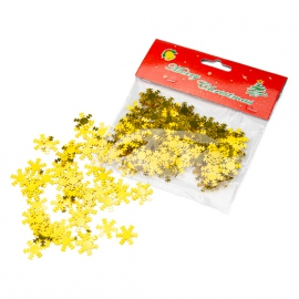 """Powder in a pack of """"Snowflake"""" gold"""