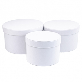 Набор бархатных тубусов YS2516 Белые