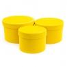 Набір тубусів оксамитових YS2516 Жовті