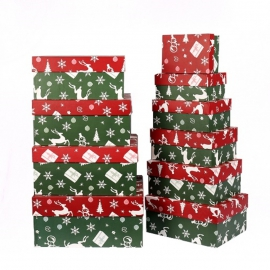 Rectangular Christmas boxes